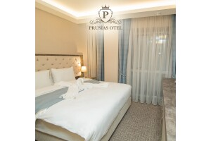 Osmangazi Prusias Otel'de Çift Kişi Kahvaltı Dahil Konaklama