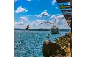 Woki Point Sarıyer'de Denizin Üstünde Açık Büfe veya Serpme Kahvaltı Keyfi
