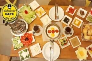 Bahçelievler Cafe & Bistro'da Enfes Serpme Kahvaltı ve Kahvaltı Tabağı Seçenekleri