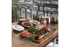 Yanık Köşk Restaurant'tan Enfes Diyarbakır Usulu Şiş Ciğer Menü