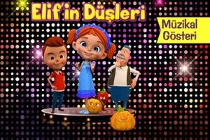Eğlence Dolu 'Elif'in Düşleri' Çocuk Tiyatro Oyununa Bilet