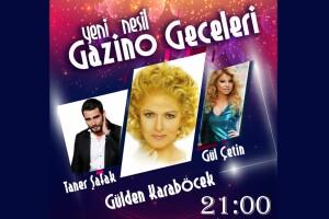 İstanbul Gönen Hotel'de 25 Ekim Gülden Karaböcek ile Yemekli Gazino Gecesi
