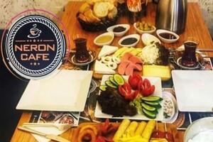 Şişli Neron Cafe'de Zengin İçerikli Serpme Kahvaltı Menüsü