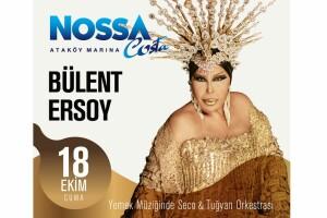 Ataköy Marina Nossa Costa'nın Kaliteli Atmosferinde 18 Ekim Gecesi Gerçekleşecek Limitsiz Yerli İçecek Eşliğinde Bülent Ersoy Sahnesi