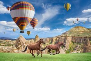 Her Cuma Hareketli 1 Gece 2 Gün Yarım Pansiyon Güzel Atlar Ülkesi Kapadokya Turu