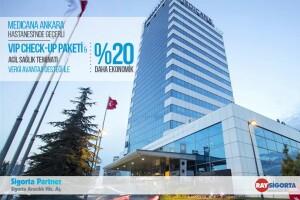 Medicana Ankara Hastanesi'nde Geçerli Check-Up Paketi + 1 Yıllık Diş Tedavi Paketi; Vergi Avantajı Desteği ile Şimdi %20 Daha Ekonomik