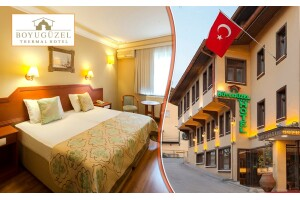 Bursa Boyugüzel Termal Hotel'de Tek veya Çift Kişilik Konaklama Seçenekleri