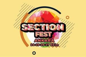 24 - 25 - 26 - 27 Ekim Section Fest Ankara Giriş Bileti