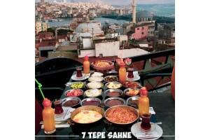 Yedi Tepe Sahne'den Denize Nazır Leziz Serpme Kahvaltı Menüsü