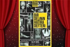Erdal Beşikçioğlu'nun Oynadığı 'Bir Delinin Hatıra Defteri' Tiyatro Oyunu Bileti