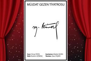 Yılmaz Özdil'in Yazdığı 'M. Kemal' Tiyatro Bileti