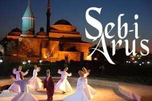 1 Gece 2 Gün Yarım Pansiyon Konaklamalı Konya Şeb-i Arus Törenleri Turu