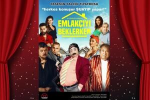 'Emlakçıyı Beklerken' Tiyatro Oyunu Bileti