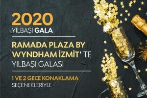 5 Yıldızlı Ramada Plaza By Wyndham İzmit'te Konaklama Dahil Seçenekli 2020 Gala Gecesi! Ek Ödeme Yok!