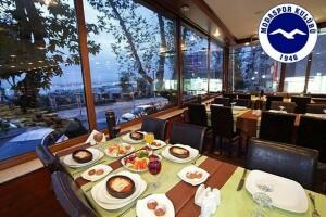 Moda Spor Kulübü Restaurant'ta 24 Kasım Gizem Can Sahnesi Eşliğinde Gündüz Yemeği