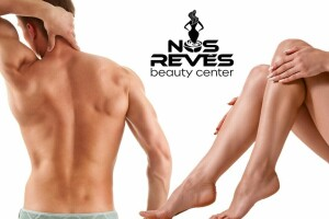 Florya Nos Reves Beauty Center'da Buz Başlıklı İstenmeyen Tüy Paketleri