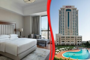İstanbul Marriott Hotel Asia'da Çift Kişilik Konaklama Seçenekleri