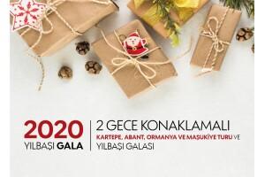 2020 Yılbaşı Özel, 5 Yıldızlı Ramada Otel Konaklamalı Gala Seçenekli; 2 Gece 3 Gün Kartepe, Bolu, Abant, Cennetgöl, Maşukiye Turu