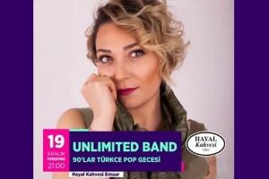 Unlımıted Band 90'lar Türkce Pop Gecesi