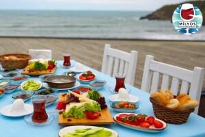 Kilyos Milyos Restaurant'ta Enfes Milyos Kahvaltı