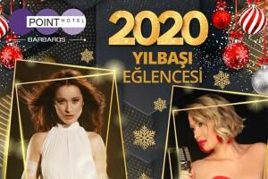 5 Yıldızlı Barbaros Point Hotel Diamond Balo Salonu'nda Elif Kaya, İlker Özdemir ve Gülçin Ergül Sahnesi Eşliğinde Yılbaşı Galası & Konaklama