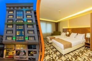 Taksim Time Hotel İstanbul'da Çift Kişilik Konaklama & SPA Kullanımı