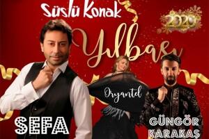 Süslü Konak'ta Canlı Müzik Eşliğinde Şahane Yılbaşı Eğlencesi