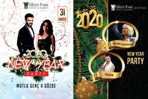 The Green Park Hotel Bostancı'da Yılbaşına Özel Eğlence ve Limitsiz İçecek Eşliğinde Konaklama Seçenekli Gala Yemeği