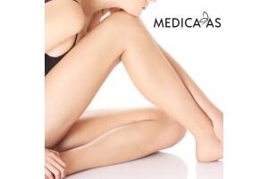 Medica As Güzellik Merkezi Bir Yıl Sınırsız Tüm Vücut veya Tek Seans Bir Bölge Seçenekleri ile İstenmeyen Tüy Paketleri