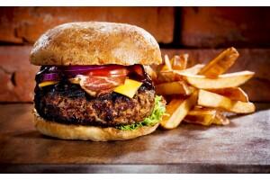 Domiklasik Cafe'de Enfes Hamburger Menüsü