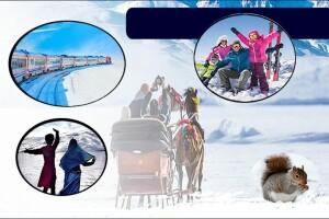 Sömestre Dönemi Turistik Doğu Ekspresi ile Kars - Sarıkamış Kayak Turu; Trenle Gidiş - Uçakla Dönüş