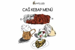Üsküdar Park Cafe'den Enfes Cağ Kebabı Menüsü