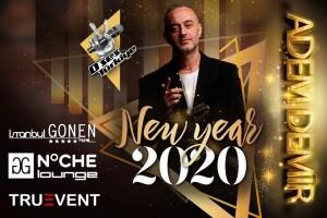 Avrupa Yakasının Yıldızı İstanbul Gönen Otel'de Adem Demir ile GG Noche Lounge Yılbaşı Eğlencesi