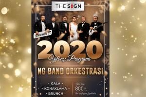 The Sign Hotel Şile'de NG Band Orkestrası Eşliğinde Yılbaşı Galası & Brunch Dahil Konaklama