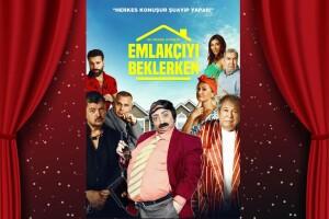 Yasemin Yalçın ve İlyas İlbey'den 'Emlakçıyı Beklerken' Tiyatro Oyunu Bileti