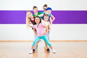 Sanat Spor Akademi'de Çocuk Zumbası