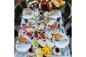 Abbara Et Sarayı'ndan Kahvaltı Tabağı, Serpme Kahvaltı ve Çocuk Kahvaltı Menüleri