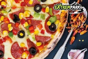 Extrempark Bursa'da Lezzet Dolu Köfte, Hamburger veya Pizza Menüsü