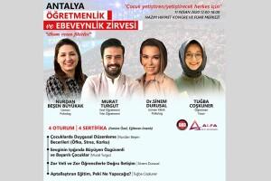 11 Nisan Sertifikalı Antalya Öğretmenlik ve Ebeveynlik Zirvesi Katılım Bileti