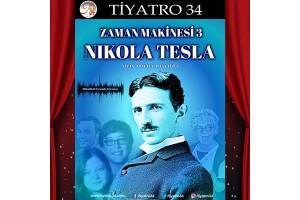 'Zaman Makinesi 3: Nikola Tesla' Tiyatro Oyunu Bileti
