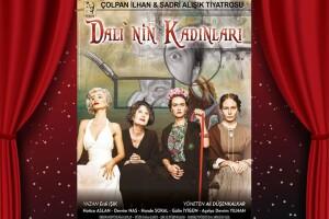Hatice Aslan'ın Başrolünü Oynadığı 'Dali'nin Kadınları' Tiyatro Bileti