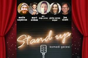 'Komedi Gecesi' Gösteri Giriş Bileti