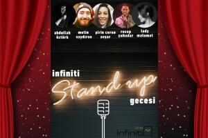 'İnfiniti Stand-Up Gecesi' Gösteri Giriş Bileti