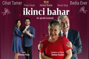 Aşk, Romantizm ve Komedi Dolu 'İkinci Bahar' Tiyatro Bileti