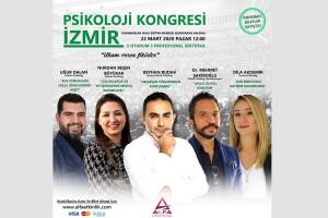 22 Mart Sertifikalı İzmir Psikoloji Kongresi Giriş Bileti