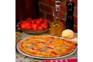Toccare Cafe'de El Açması Hamuru İle Damaklarda Unutulmaz Tatlar Bırakan Sebzeli ve Biftekli Pizza Menüleri