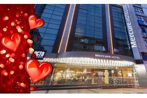 Mercure Hotel Bakırköy'de Sevgililer Gününe Özel Konaklama Seçenekli Akşam Yemeği