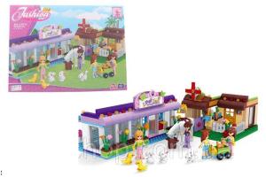 Ausini - Bircan Bricks, 24811 - Petshop Çiftlik Lego Seti