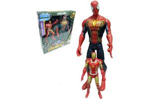 Avengers Titan Hero Dev Spiderman Ve Ironman 2'li Figür Set