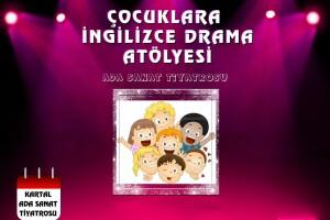 24 Ocak 'Çocuklara İngilizce Atölyesi' Giriş Bileti